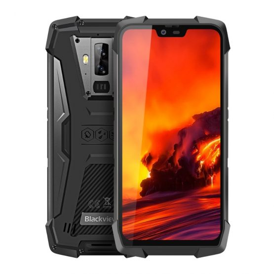 Original Global Version Blackview Waterproof Rugged Smartphone 6GB+128GB Android 9.0 Pie Night Vision 16MP NFC 4G Mobile Phone