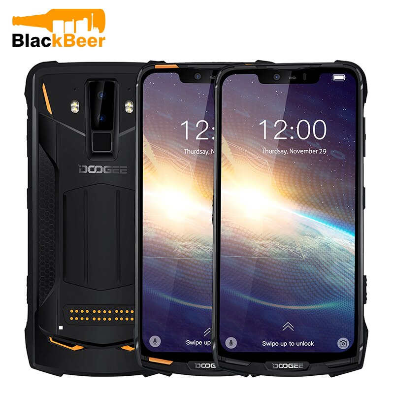 "DOOGEE S90 Pro IP68 6.18"" Rugged Mobile Phone Helio P70 Octa Core Smartphone 6GB 128GB AL Camera Android 9.0 Cellphone 5050mAh"