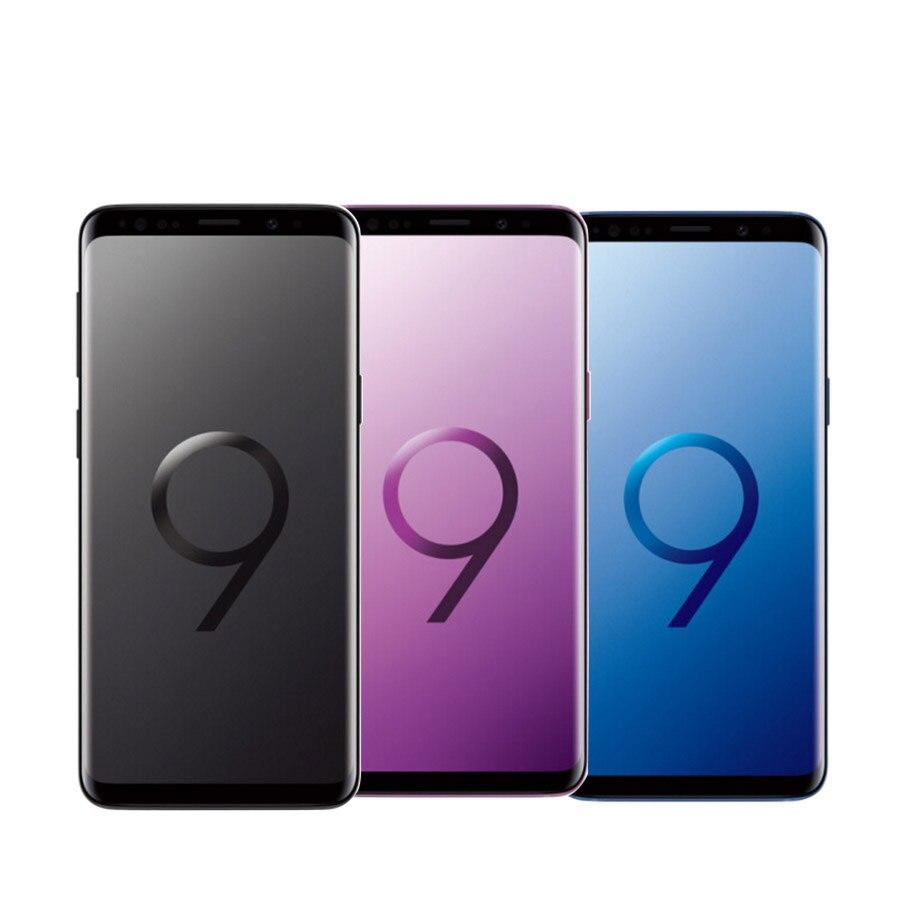 "Global Version Samsung Galaxy S9 G960FD Dual SIM 4GB 64GB Mobile Phone Galaxy S9 Duos G960F/DS 5.8"" NFC Original 4G SmartPhone"