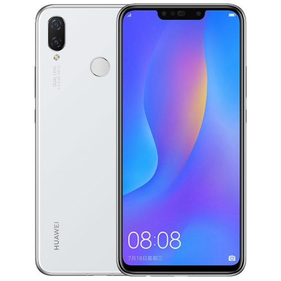 Huawei Nova 3i Global Version Octa Core Mobile Phone 4GB RAM 128GB ROM 1080 x 2340 Android 8.1 3340mAh Battery 4G LTE Smartphone