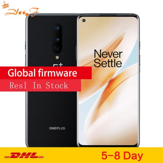 New Arrival Original Global ROM Oneplus 8 5G Smartphone Snapdragon 865 8GB 12GB RAM 128GB 256GB ROM 6.55 Inches 90Hz Screen NFC