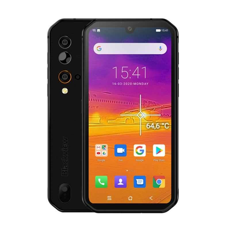 Blackview BV9900 Pro Helio P90 Octa Core 8GB 128GB 5.84'' FHD+ IP68 Waterproof Rugged Smartphone 48MP Quad Camera Mobile Phone