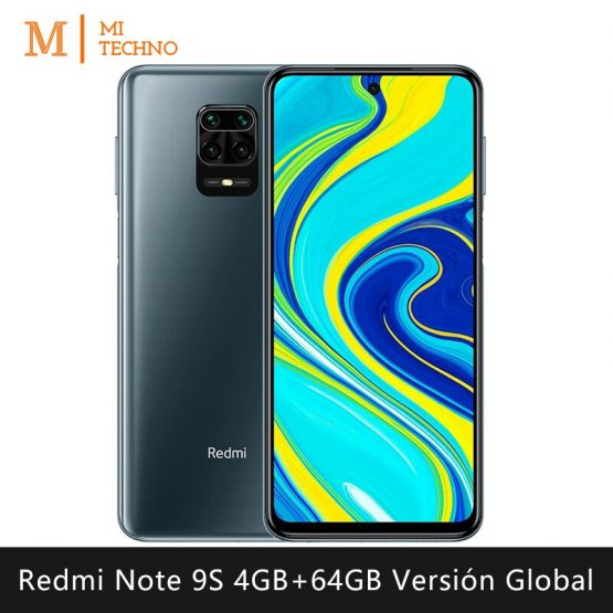 Xiaomi Redmi Note 9S Smartphone (4GB RAM 64GB ROM mobile phone free shipping new android battery 5020mAh)[Global version]