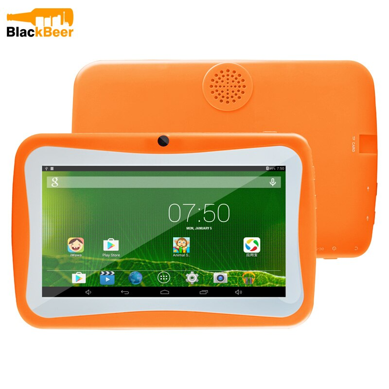 UNIWA Children 7 Inch Tablet Smartphone 1G RAM 8G ROM Allwinner A33 Quad Core Android OS Educational Kids Tablet PC Mobile Phone