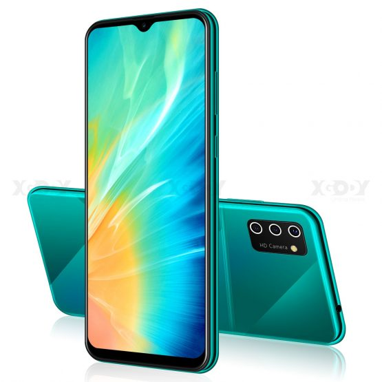 "XGODY 6.53"" 3G Smartphone Android 9.0 S2019:9 Waterdrop Dual SIM Mobile Phone 1GB 4GB MTK6580 Quad Core WiFi 5MP Camera 3000mAh"