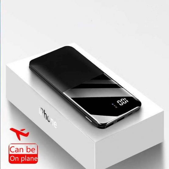 2020 30000mah Power Bank Portable Charging PowerBank 30000 mAh USB PoverBank External Battery Charger For XiaomiMi 9 8 iPhone 7