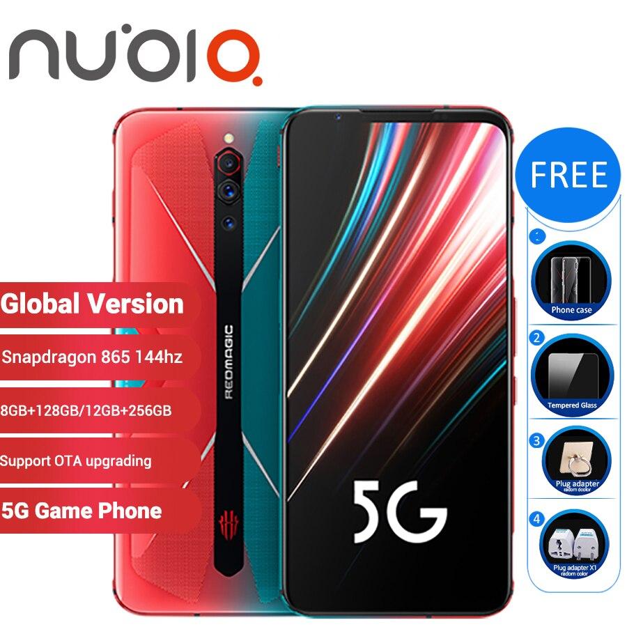 "Global Version Nubia Red Magic 5G Gaming SmartPhone 12GB 256GB / 8GB 128GB 6.65"" Snapdragon 865 Redmagic 5G Game Mobible Phone"