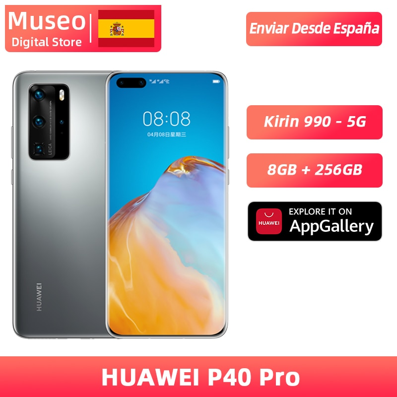 Global version Huawei P40 Pro 8G 256G Kirin 990 5G Smartphone Camera quadruple 50MP 6.58 ''screen SuperCharge 40W