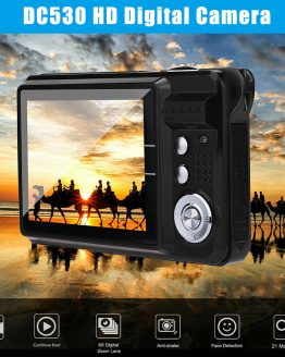 2.7Inch TFT LCD HD Screen Digital Camera Anti-Shake Face Detection Camcorder DJA99