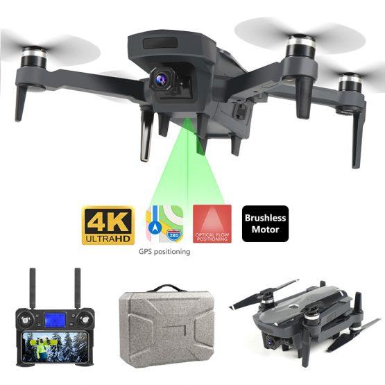 1.8km 1800 4k 5G Long Range Profissional Drone with Brushless Motor 4k Gps Drone Dual Camera Foldable Kit Follow Me
