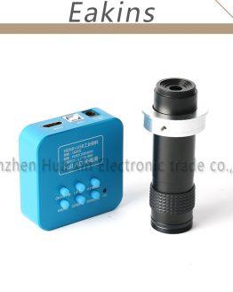 36MP 1080P Industrial Digital Microscope Camera 4K HDMI USB Output Video Camera +1-100X Zoom C-mount Lens For Phone Repair