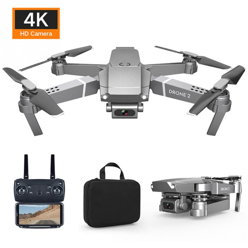 Drone 4K 2020 New E68 WIFI FPV Mini Drone With Wide Angle HD 4K 1080P Camera Hight Hold Mode RC Foldable Quadcopter Drone