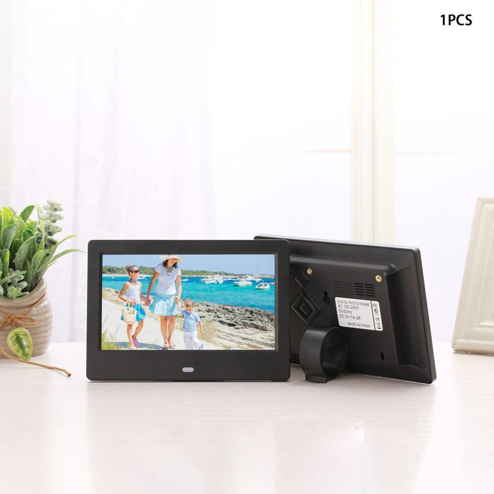 7 Inch Lcd Widescreen Hd Led Electronic Photo Album Digital Photo Frame Wall Advertising Machine Gift