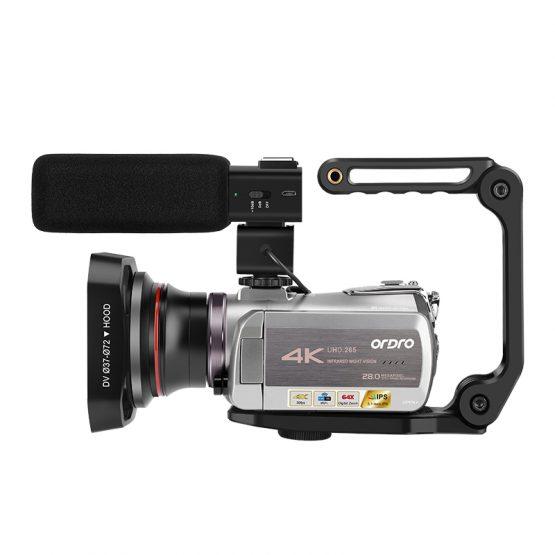 Camcorder 4K Video Camera Filmadora ORDRO AZ50 64X Digital zoom Camcorder 4K Video Camera Filmadora ORDRO AZ50 64X Digital zoom 30FPS Night Vision Videocamara with Microphone Stabilizer