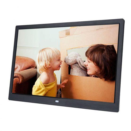 17 Inch LED Backlight HD 1440*900 Full Function Digital Photo Frame Electronic Album digitale Picture Music Video EU/US Plug