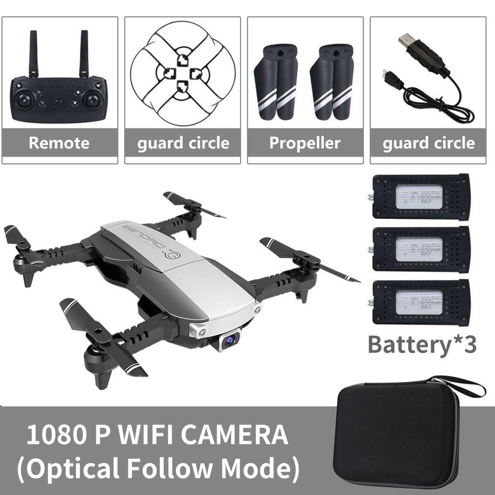 LANSENXI-NVO RC Drone 4K 1080P Quadcopter 2.4ghz Wifi FPV Foldable Mini Drones Real-time Transmission Camera Dron Quadcopter