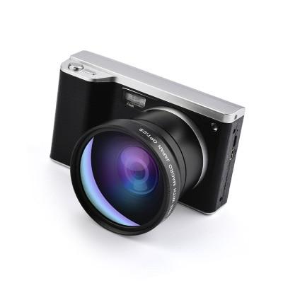 "24 Megapixel Telephoto HD Home Photography Digital Camera 4k 24 Megapixel Telephoto HD Home Photography Digital Camera CMOS Sensor 8x Zoom JPEG/AVI 3.5"" Screen SLR Camera With Flash"