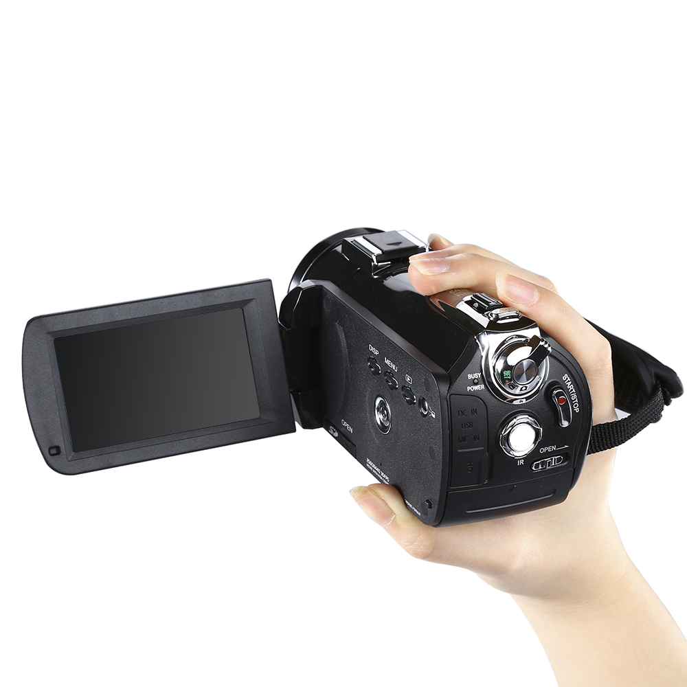 """ORDRO Updated AC3 4K Hot Shoe WIFI Digital Camera HDMI 24MP Infrared Night Vision Video Recording Camcorder 3"""" Touch Screen"""