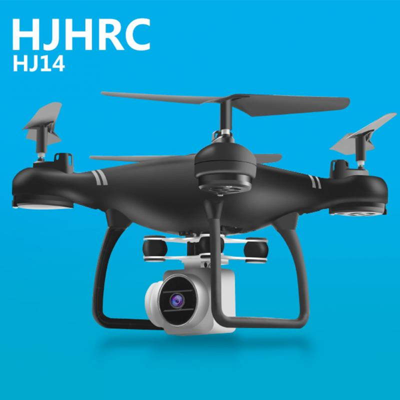 HJ14W Camera Drones Wifi FPV HD Camera 1080P RC Drone Foldable Quadcopter Helicopter add Double Extra Battery Free Shipping