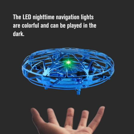 Hand Controlled Altitude Hold Mode UFO Drone Mini Anticollision Sensor Induction Hand Controlled Altitude Hold Mode UFO Drone Machine On Radio Control Kids Toys