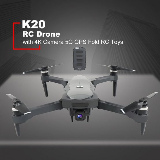 New Drone K20 Brushless Motor 5G GPS Drone With 4K HD Dual Camera Professional Foldable Quadcopter 1800M RC Distance Toy