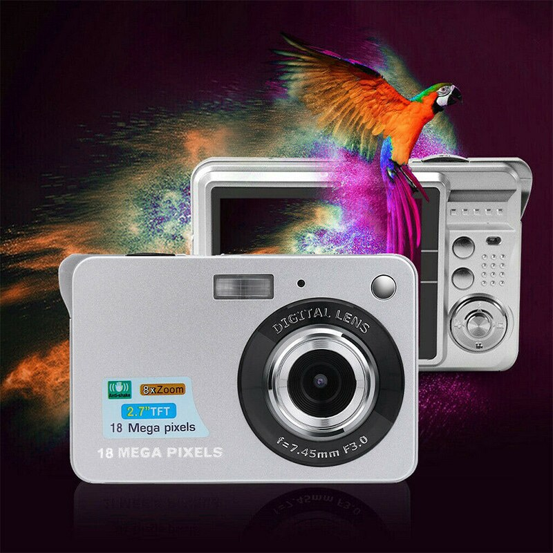 2.7Inch TFT LCD HD Screen Digital Camera Anti-Shake Face Detection Camcorder UY8