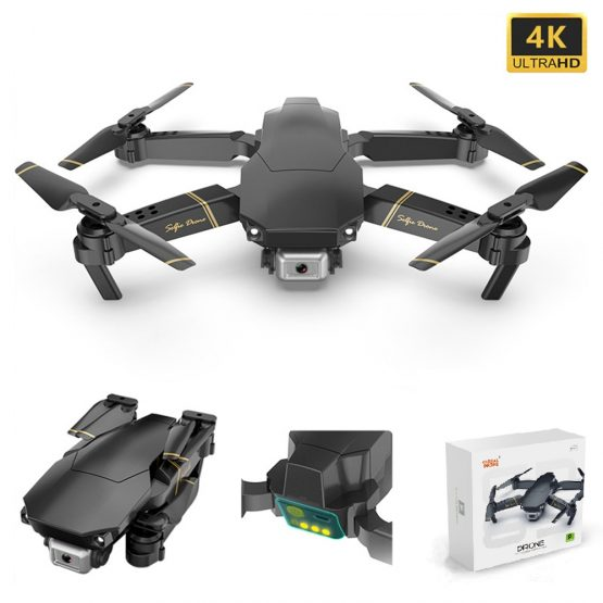 GD89 Drone Global Drone With Hd Aerial Video Camera 4k Rc Drones Rc Helicopter Fpv Quadrocopter Dron Foldable Toy Drone E58