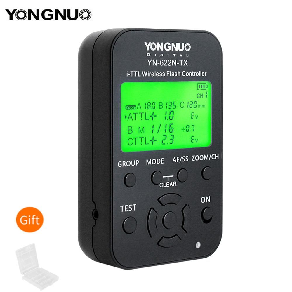 Yongnuo YN-622N-TX YN622N-TX YN 622N TX TTL Wireless Flash Controller Wireless Flash Trigger Transceiver For Nikon DSLR Cameras