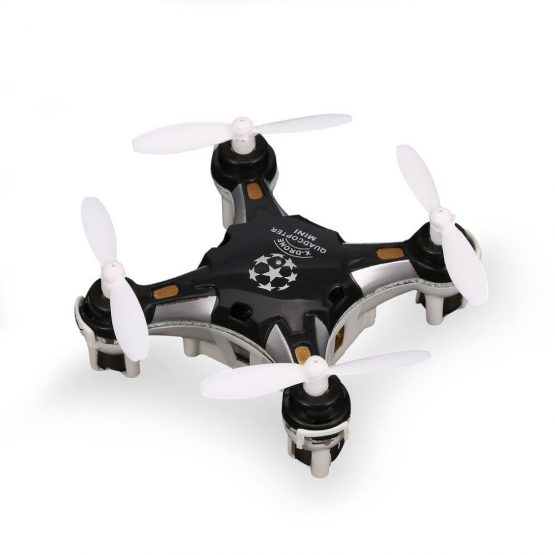 FQ777 124 2.4G 4CH Six-axis Gyro Mini Drone 360 Degree Flip Headless Mode One Key Return RC Pocket Quadcopter RTF with Light