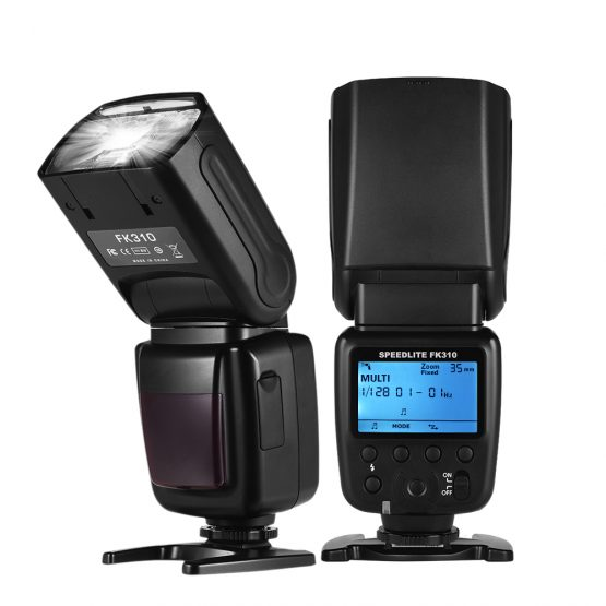 Universal Wireless Camera Flash Light Speed lite GN33 LCD Display Flash Studio for Canon Nikon Sony Olympus Pentax DSLR Cameras