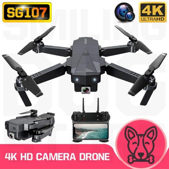 RC Quadcopter SG107 Drone 4K HD Camera WIFI FPV Altitude Holding Foldable Selfie Drones VS XS816 SG106 SG706 KY606D E68 SG901