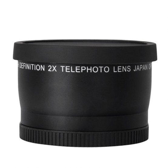 52MM 2.0X Telephoto Lens For Nikon D7100 D5200 D5100 D3100 D90 D60 and Other DSLR Camera Lenses With 52MM Filter Thread