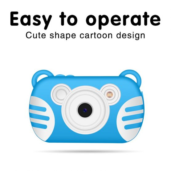 Portable Kids Digital Camera Anti-shake For Boys/ Girls 2.7 Inch Portable Kids Digital Camera Anti-shake For Boys/ Girls Gifts Waterproof Anti-drop 8X Zoom TF Card Cameras Cartoon