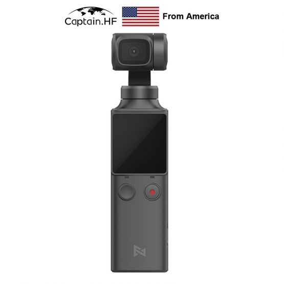 Bluetooth PALM3-Axis 4K HD Handheld Gimbal Camera Stabilizer US Captain WIFI Bluetooth PALM3-Axis 4K HD Handheld Gimbal Camera Stabilizer 128° Wide Angle Smart Track Pocket Video Camera