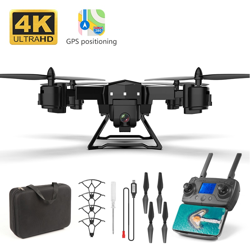 Drone GPS KY601G 4k drone HD 5G WIFI FPV drone flight 20 minutes quadcopter remote control distance 2km drone camera MV Record