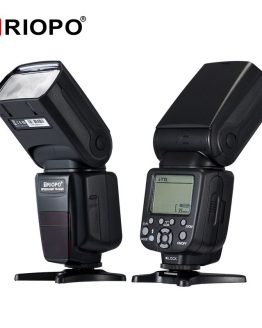 Triopo TR-982III TR-982 III Flash Speedlite HSS Multi LCD Wireless Master Slave Mode Flash Light For CANON NIKON DSLR Camera