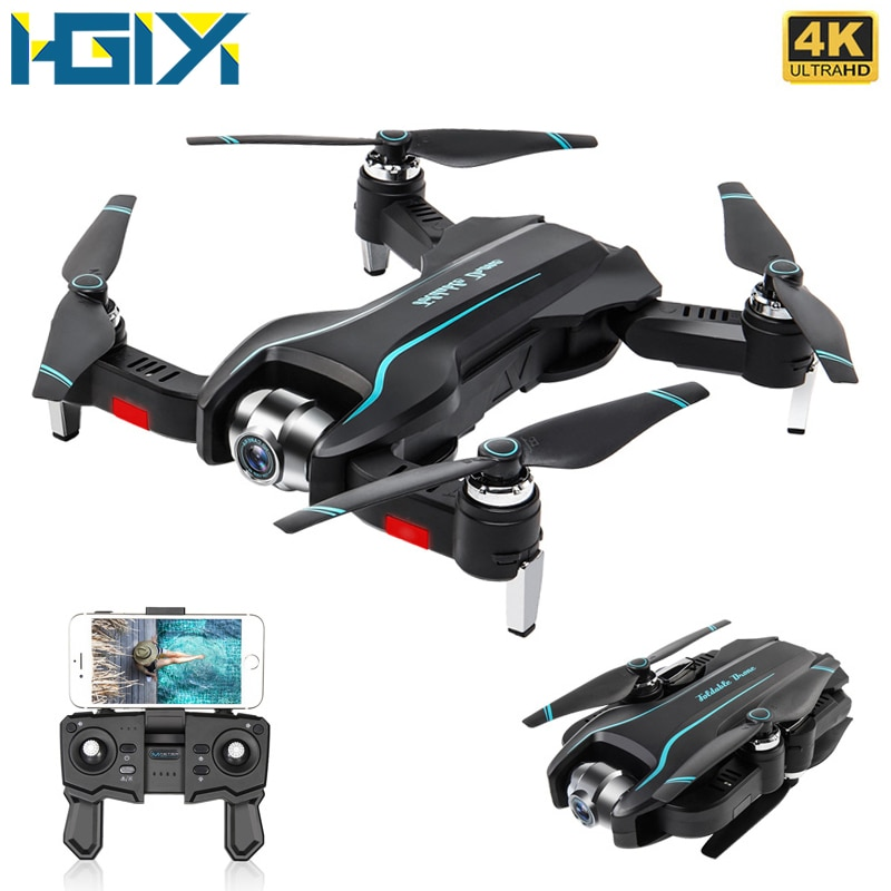 HGIYI S17 RC Drone With 4K HD Camera Adjustable Wide-Angle Optical Flow Professional Foldable Quadcopter Helicopter Drone VS E58