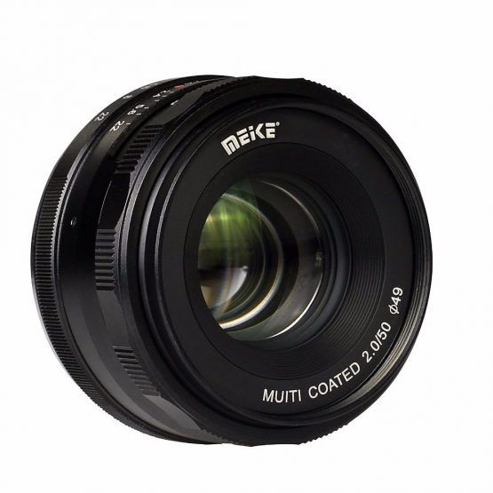 Meike MK-E-50-2.0 50mm f2.0 Large Aperture Manual Focus lens APS-C Lenses For Sony E Mount a6300 NEX7 DSLR Camera