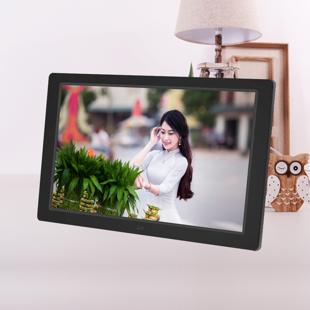 12.1 inch HD Digital Photo Frame 1280x800 Resolution LED Backlight Electronic Movie Picture Album Birthday Gift