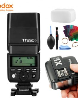 GODOX TT350C Camera Flash 2.4G Wireless TTL HSS GN36 Flash Speedlite Pocket lights + X1T-C Transmitter For Canon DSLR Camera
