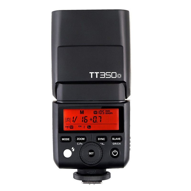 Godox Speedlite TT350O TTL Camera Flash Speedlite 1 / 8000s HSS GN36 For Olympus/Panasonic Mirrorless DSLR Camera