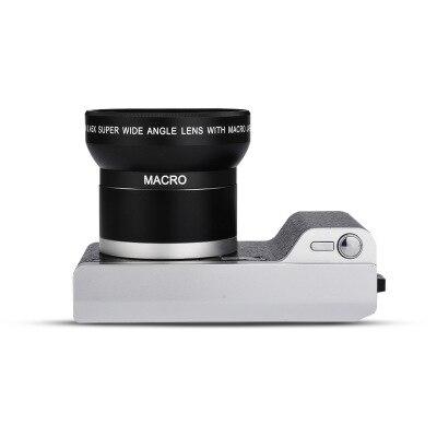 "4k 24 Megapixel Telephoto HD Home Photography Digital Camera CMOS Sensor 8x Zoom JPEG/AVI 3.5"" Screen SLR Camera With Flash"