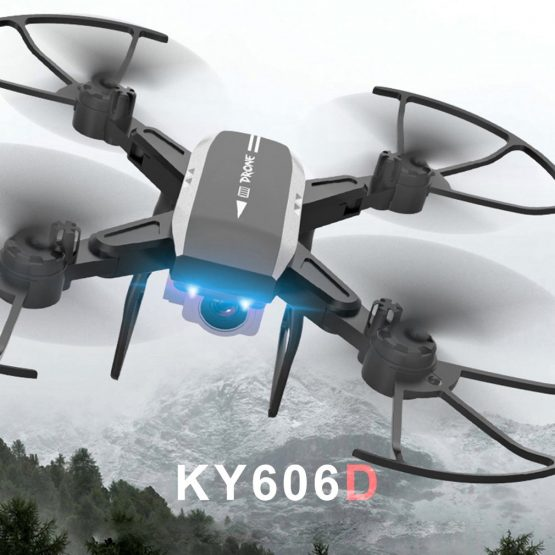 KY606D Professional Foldable RC Drone 4K KY606D Professional Foldable RC Drone 4K HD Plane Wifi Digicam Drone VS KY601S Lengthy Fly Time Helicopter with Three Battery drone