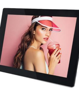 15.6 Inch Backlight HD 1280*800Full Function Digital Photo Frame Electronic Album digitale Picture Music Video