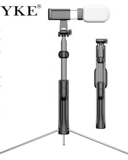CYKE 3in1 Extendable Monopod Selfie Stick Grip Handle Tripod Accessory compatible for iPhone Android