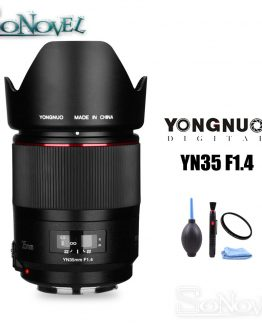 YONGNUO YN35mm F1.4 Wide-Angle Prime Lens Full Frame Lense for Canon DSLR Camera 70D 80D 5D3 MARK II 5D2 5D4 800D 200D 7D2 6D 5D