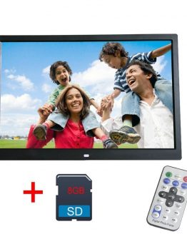 12 Inch Digital Photo Frame 8GB LED Backlight High-Definition 1280 X 800 Electronic Album Picture Music Video digitale fotolijst