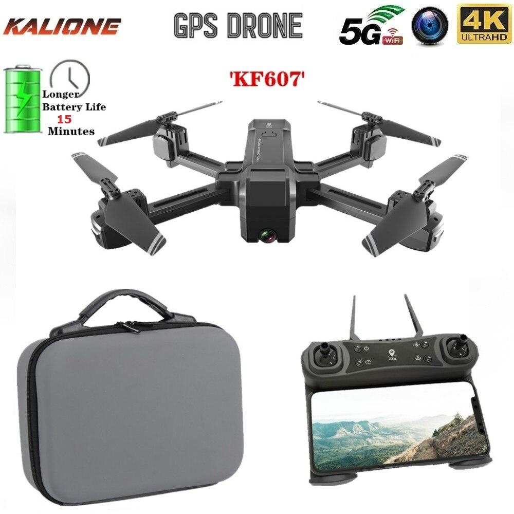 KF607 GPS Drone with 4K HD Dual Camera 1080P 2.4G / 5G Wifi FPV Optical Flow RC Quadcopter Follow Me Mini Dron drones VS E520S