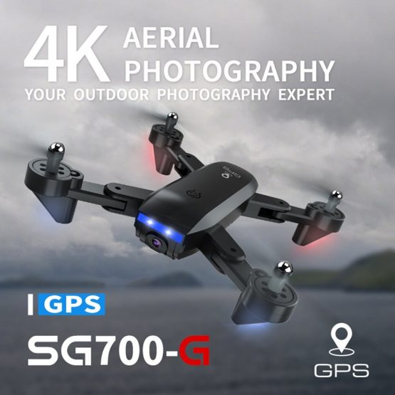 Drone SG700G 5G WiFi FPV 1080P or 4K Dual Camera Optical Flow Quadcopter Foldable Selfie Drone Wide angle APP control