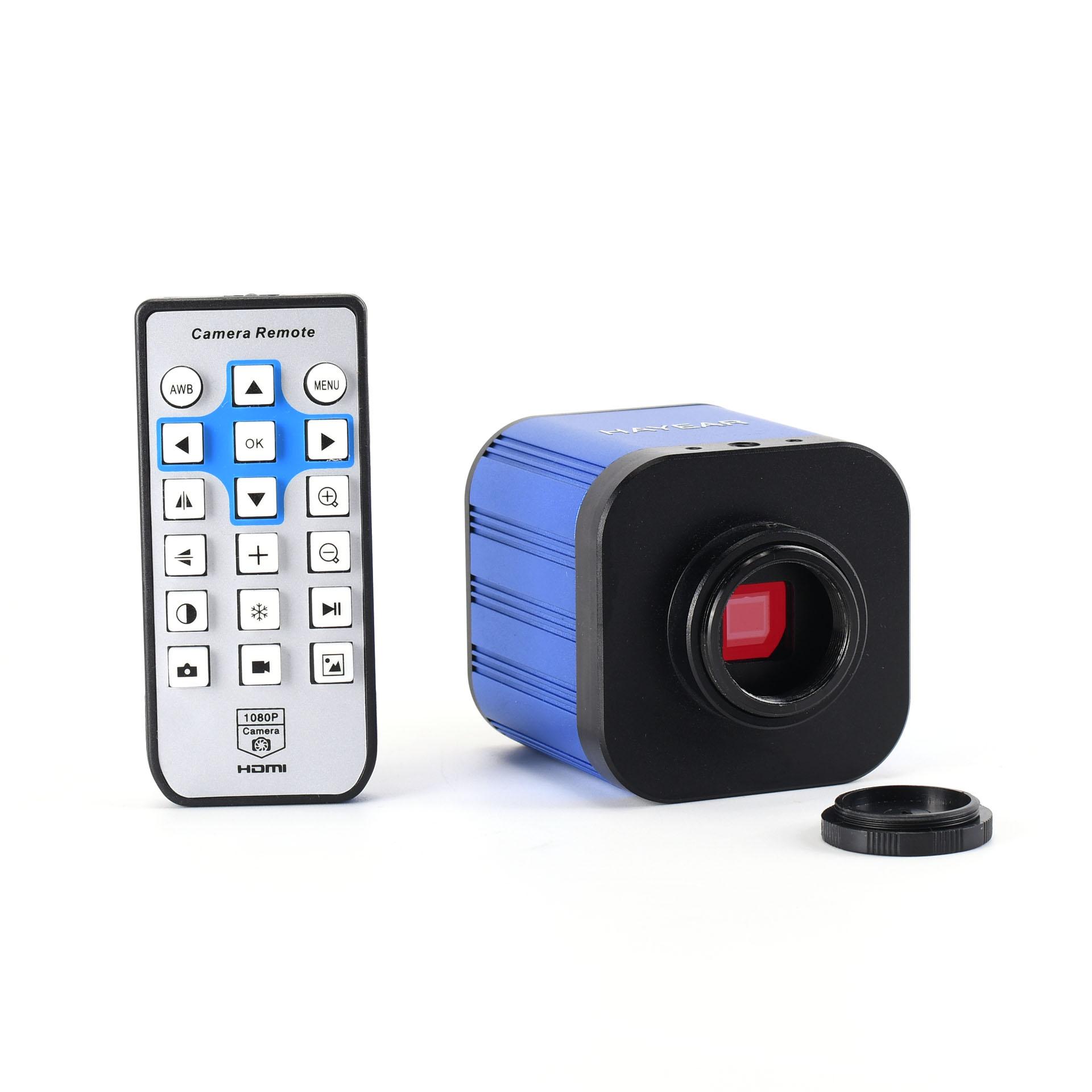 New 4K Digital Microscope Camera 2160P 1080P Industrial Video Microscope UHD Sony Sensor for PCB CPU Phone Repair Soldering